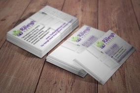 rehab recovery business card