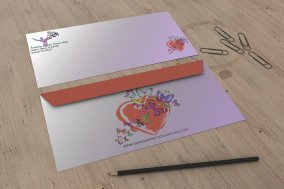 counselor custom designed envelopes