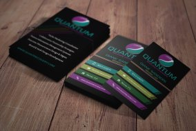 Quantum Recovery custom consultant business cards